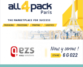 EZS vous attend sur All4Pack